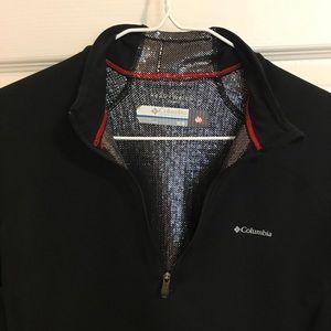Columbia women's long sleeve half zip shirt